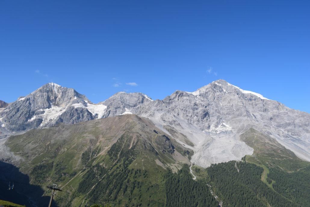 Sulden im Sommer Ortler Wandern Bergsteigen